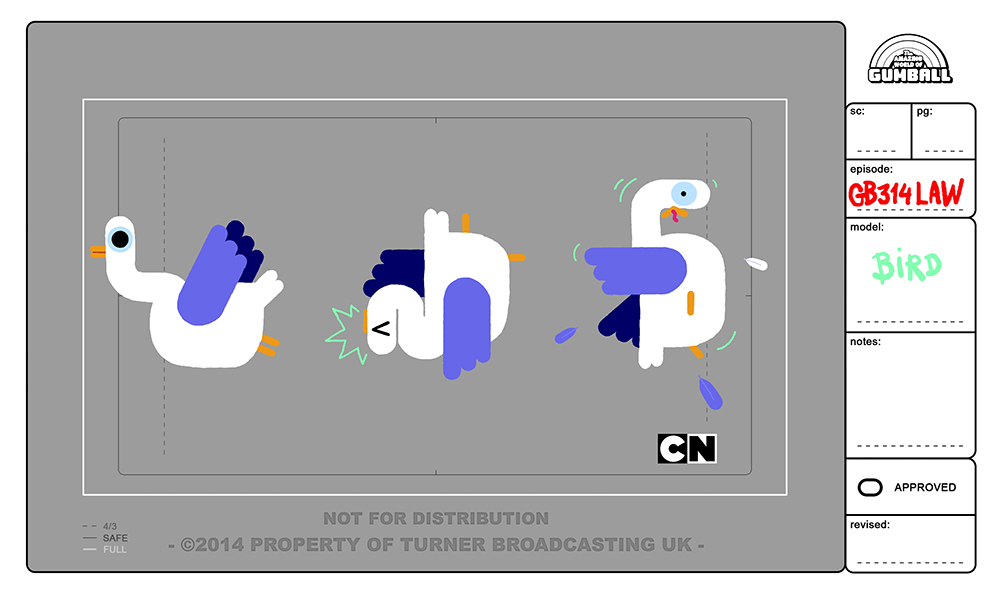 The Amazing World Of Gumball Season 3 Character Design